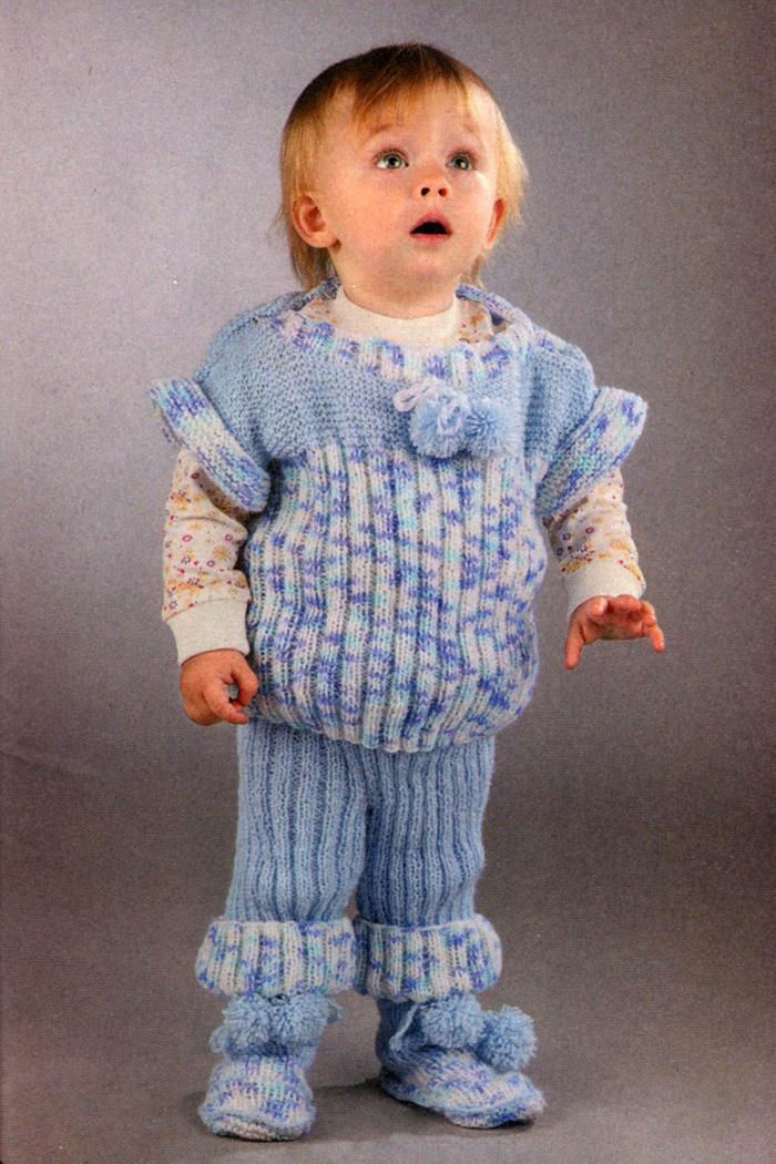 Вяжем одежду для детей на 2