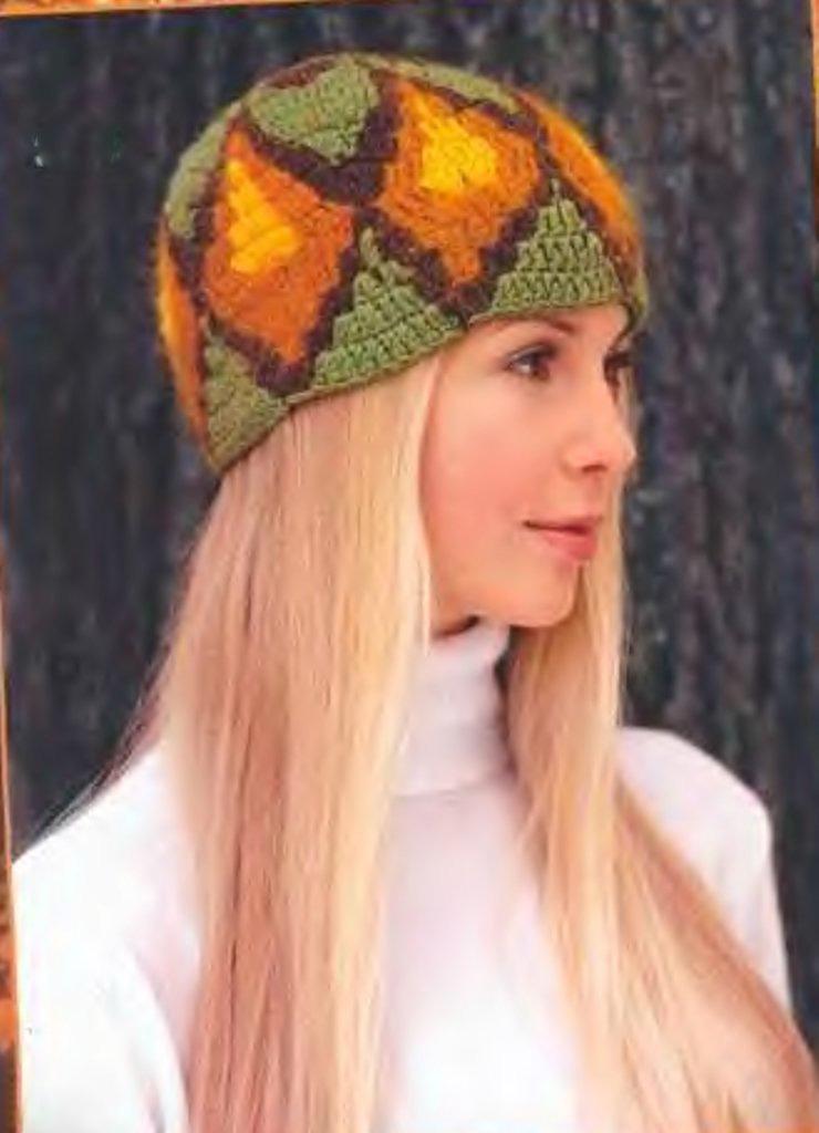 Вязание женских шапок