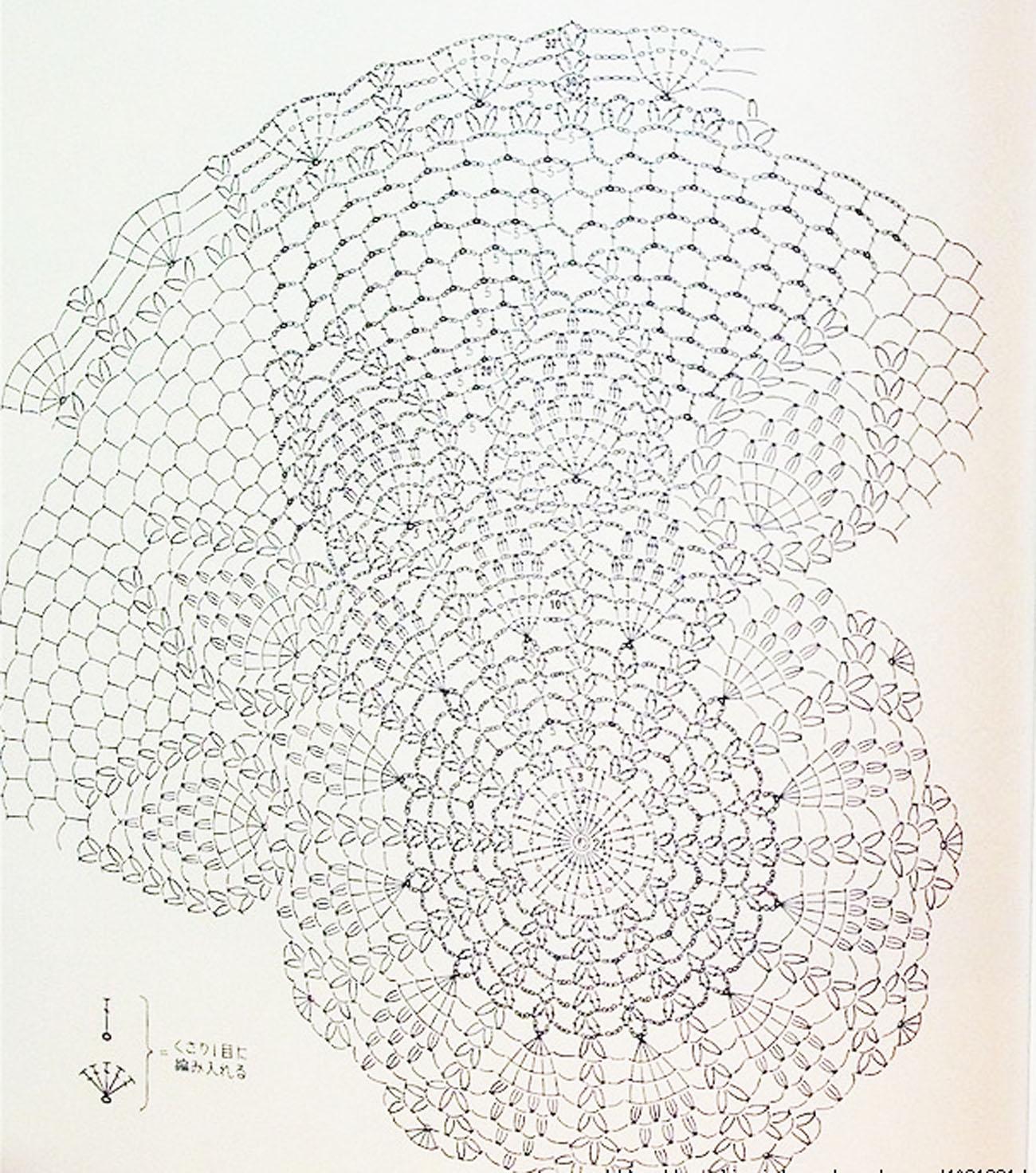 филейная вязка крючком схемы с описанием