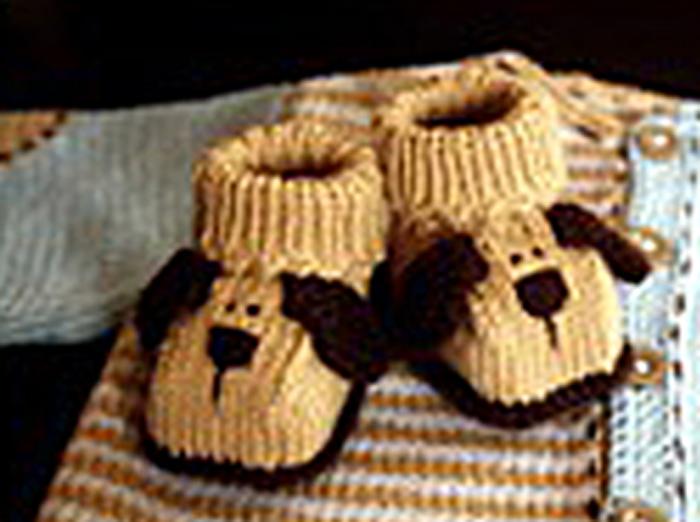 Вязание пинеток для малышей