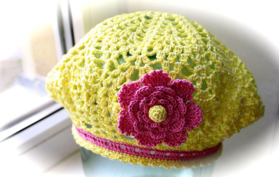 Вязание шапок, беретов, кепок
