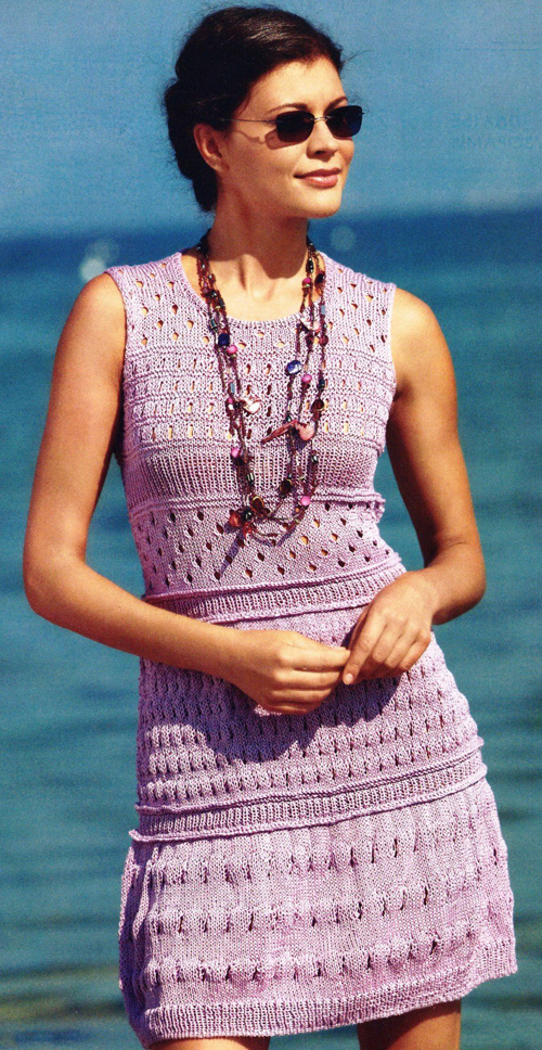 Вязание летнего платья