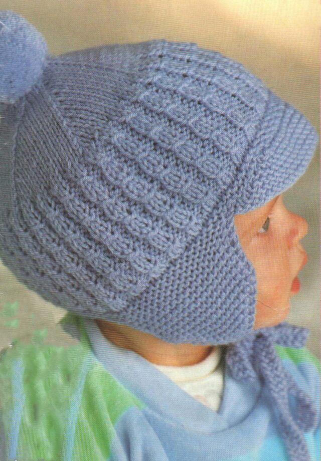 шапка для мальчика 1 - 1,5