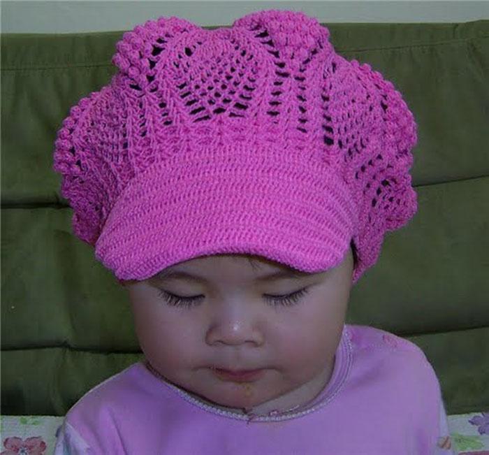 вариант детской шапки от