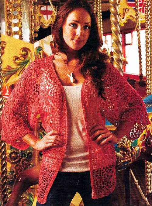 Вязание женской одежды крючком