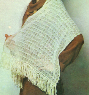 Вязание шарфа на вязальной машинке