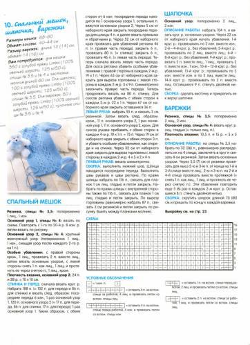 Вязание конверт для новорожденных спицами со схемами