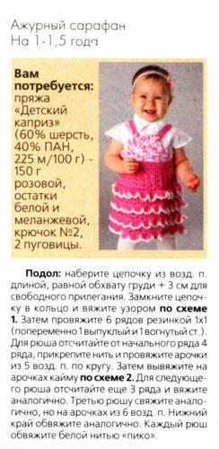 Шапка для девочки 1 года вязанная спицами