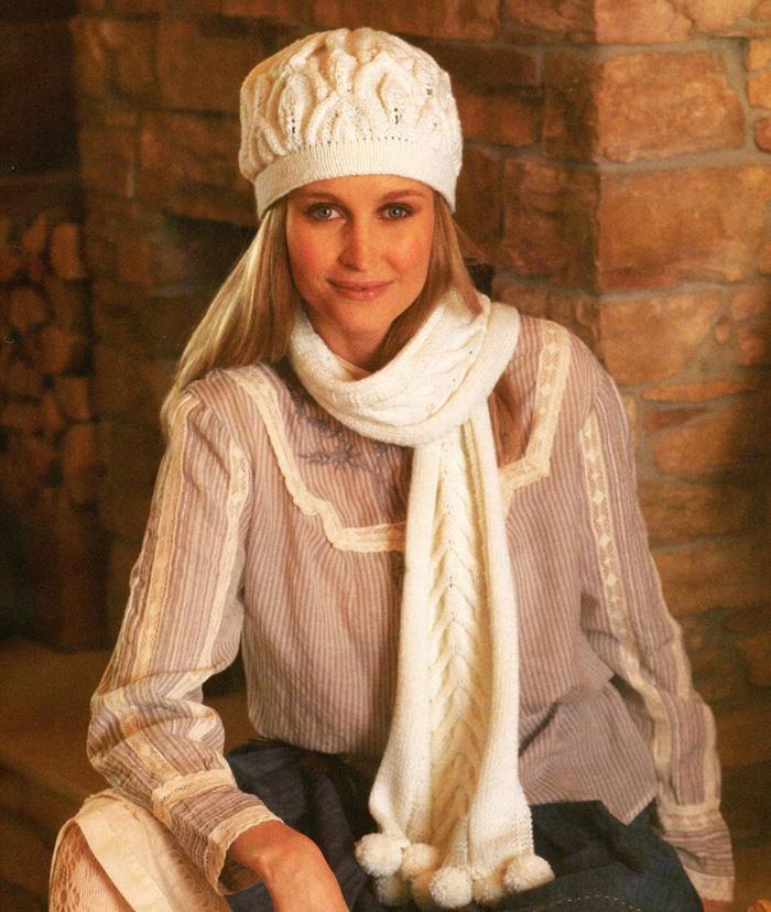 Вязание модных шапок