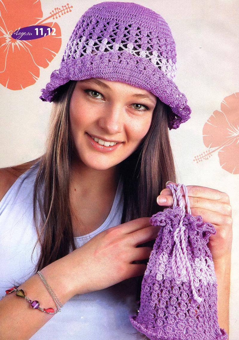 Вязание на спицах летних топиков