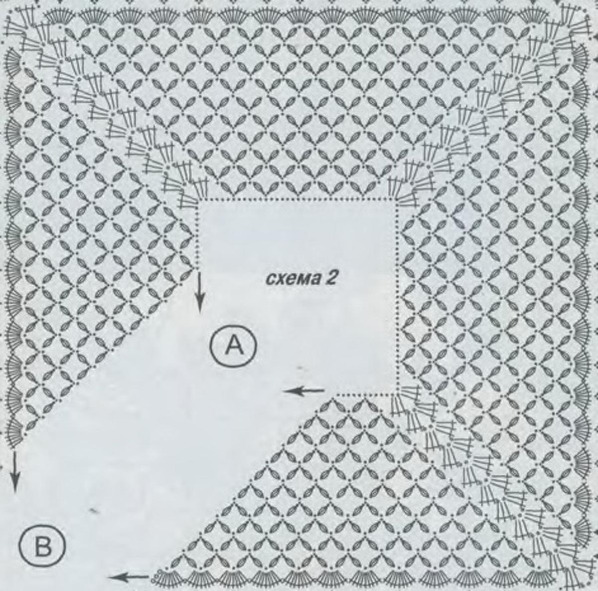 Вязания Крючком Кайма