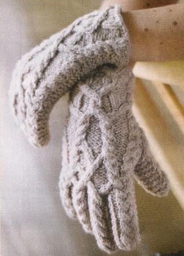Вязание крючком уроки перчатки.