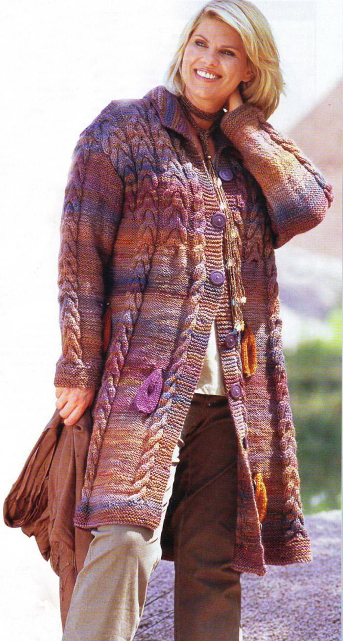 пуловеры свободного покроя выкройки и схемы вязания