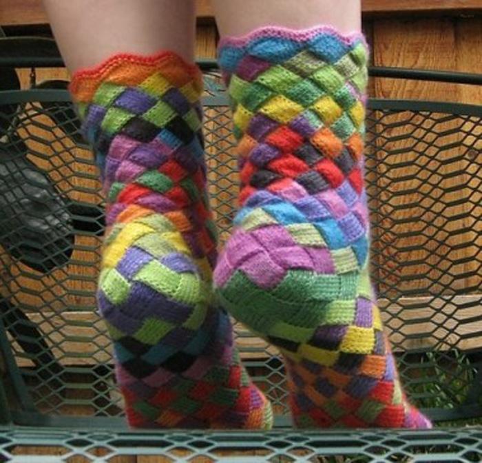 Мастер класс по вязанию носков