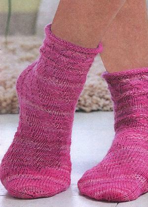 Эти носки связаны на пяти