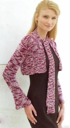 Вязание на спицах платков и косынок