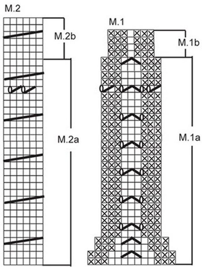 ...же описание башкирского ... объемное вязание крючком; узоры спицами.