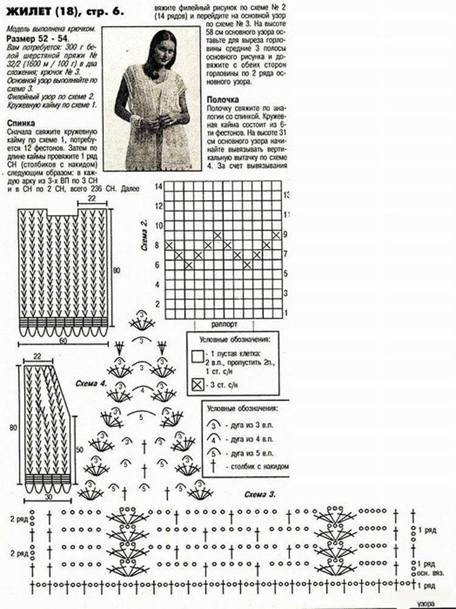 Вязание спицами большие размеры со схемами