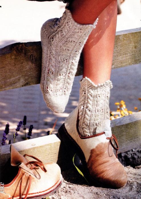 принципы по вязанию носков