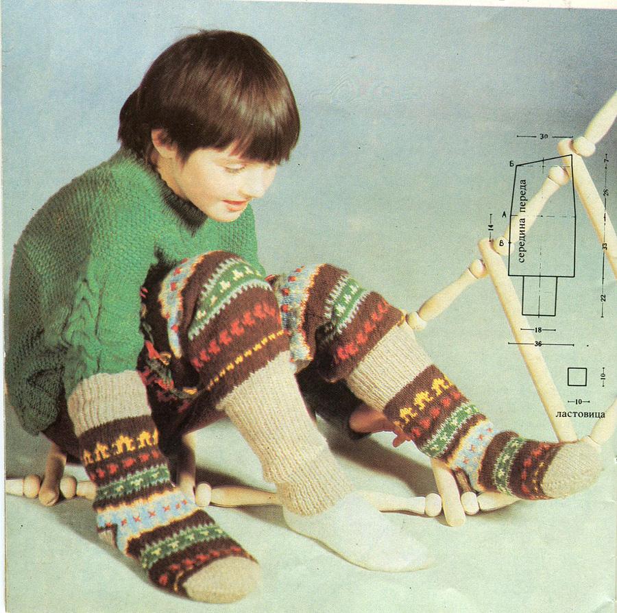 Вязание носков узоры вязания