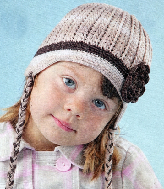Схема по вязанию шапки для