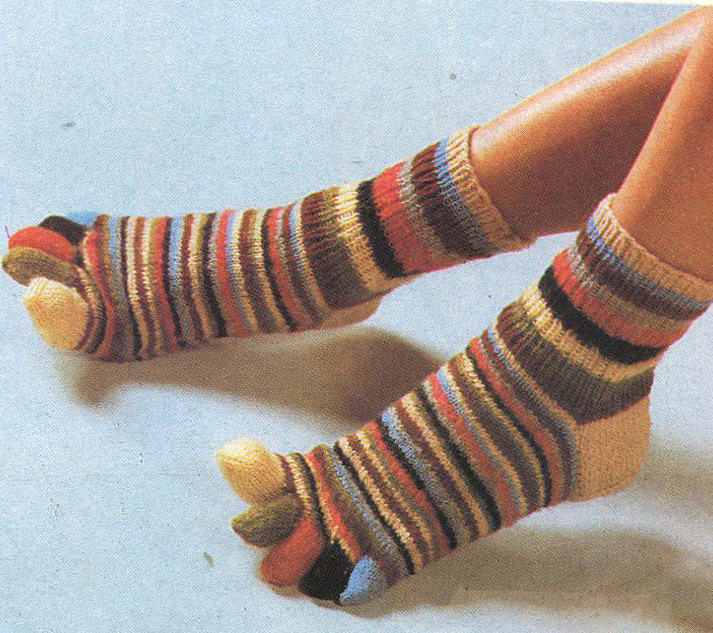 Вязание носков - перчаток