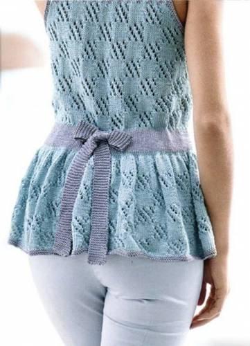 увеличить размер выкройки для вязания