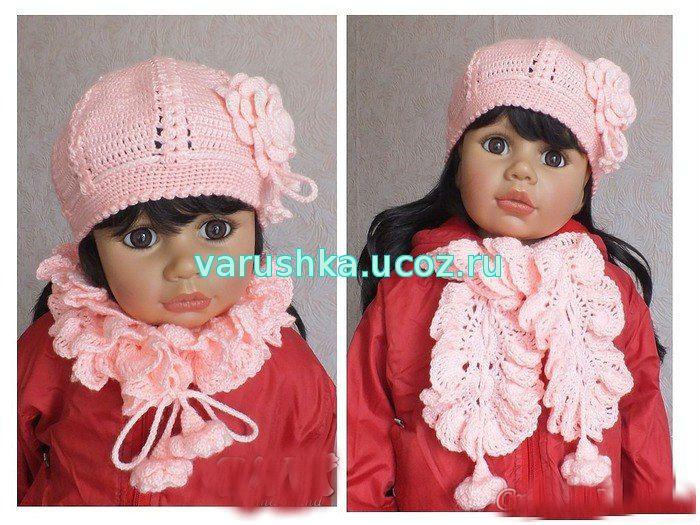 Схема вязания только шапок для девочек 4 лет