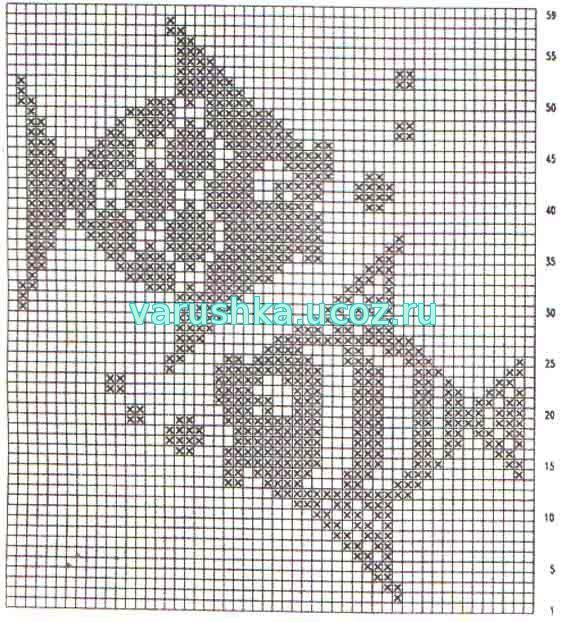 Филейное вязание детям крючком схемы и 120