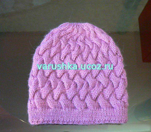 схемы вязания шапок схемы вязания крючок и спицы