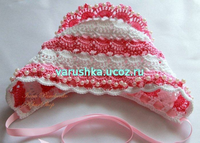 вязание детских шапок схемы вязания крючок и спицы